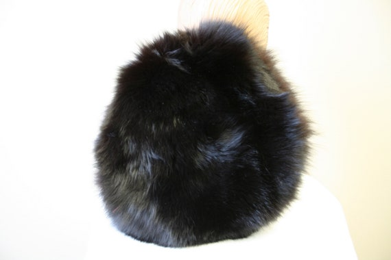 1960s Dark Brown Fur Hat - image 5