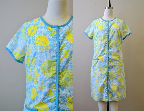 1960s Lilly Pulitzer Zip Front Dress