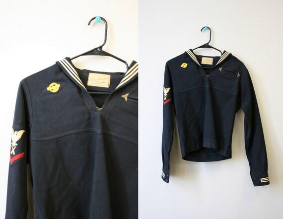 1940s Wool Sailor Shirt