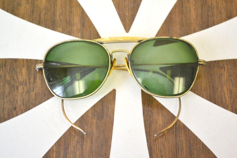 0f438c360848b 1940s Aviator Sunglasses