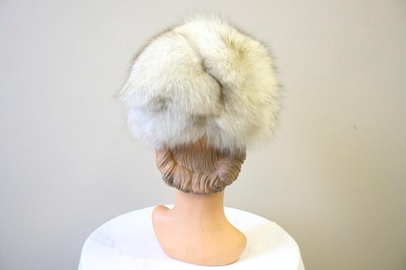 1960s Mottled Fur Hat - image 4