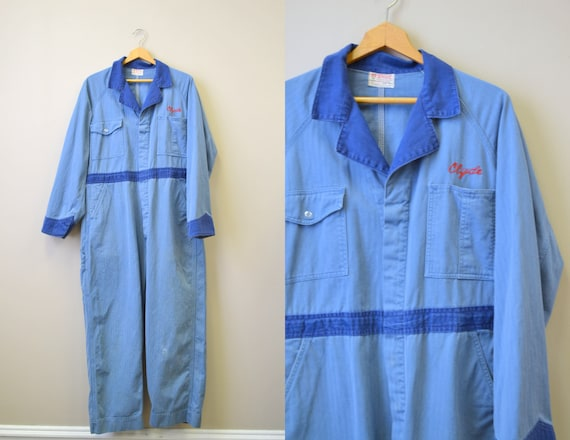 "1940s/50s Wascott ""Clyde"" Denim Coveralls"
