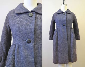 1960s Henri Bendel Wool Coat