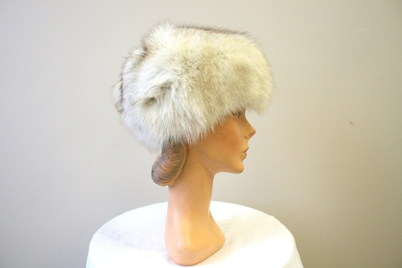 1960s Mottled Fur Hat