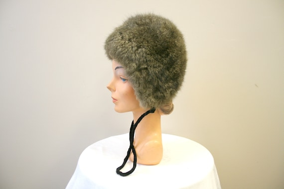 1960s Saks Fifth Avenue Fur Hat - image 1