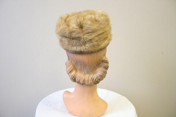 1960s Dece Blond Fur Hat - image 4