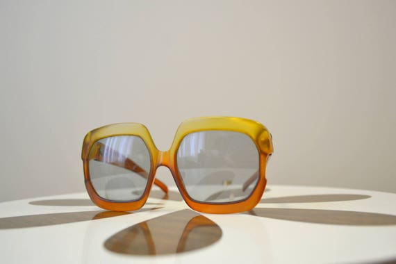 1970s Christian Dior Oversize Sunglasses