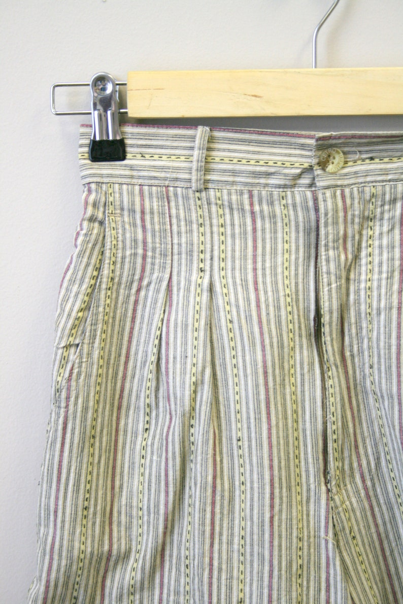 1980s Striped Shorts