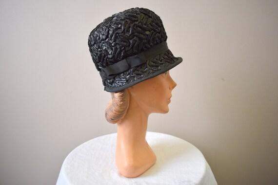 1960s Straw Riding Helmet Hat  60s Bubble Hat