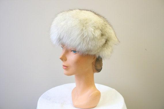 1960s Mottled Fur Hat - image 2