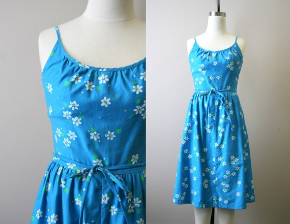 1960s Malia Floral Dress