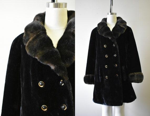 1970s Borgazia Faux Fur Coat
