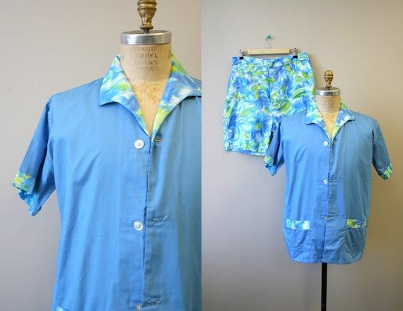 1960s Pleetway Patio Lounger Pajamas Set