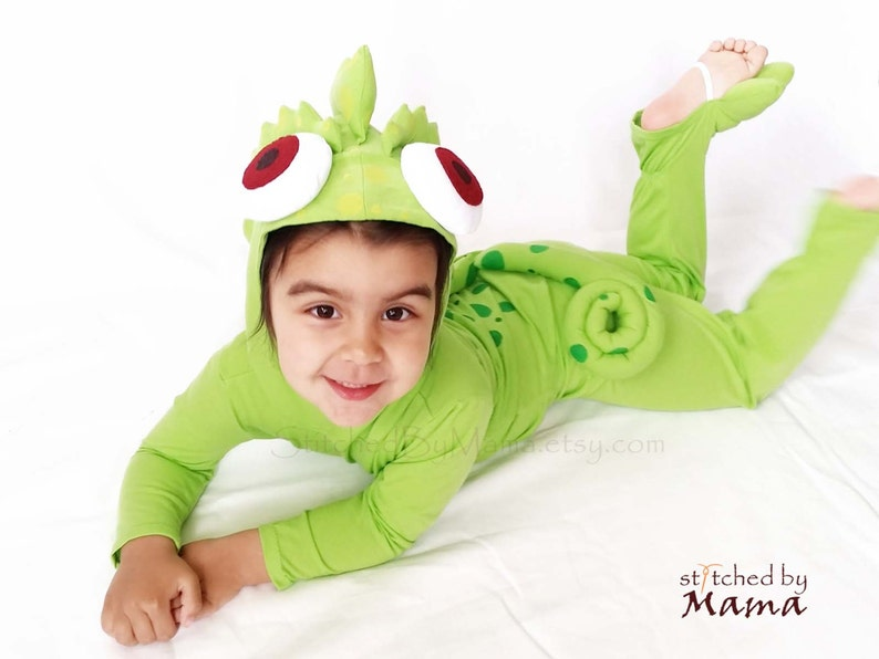 Rapunzel S Chameleon Pascal Inspired Toddler Costume Etsy