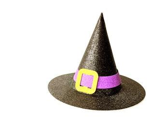 3D Witch Hat SVG Design