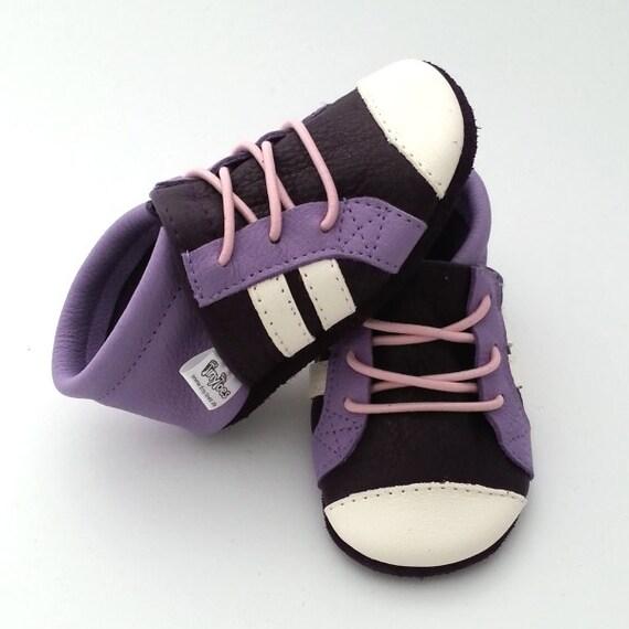 promo code 465e0 d0e9a TinyToes Krabbelpuschen/Krabbelschuhe Sneaker - auf Wunsch personalisiert