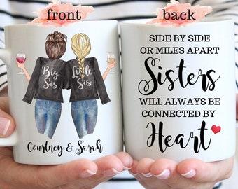 Best Sister Gifts For Soul Sister Christmas Birthday Gifts for Sisters Big Sister Sister Gifts from Sister Little Sister