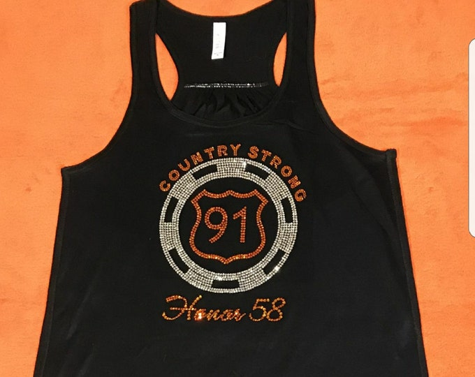Route 91 Country Strong, Honor 58