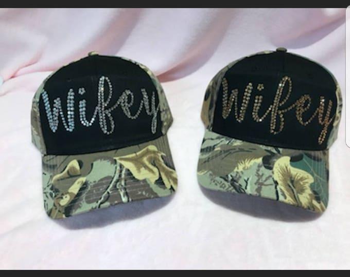 Wifey Camo Hat