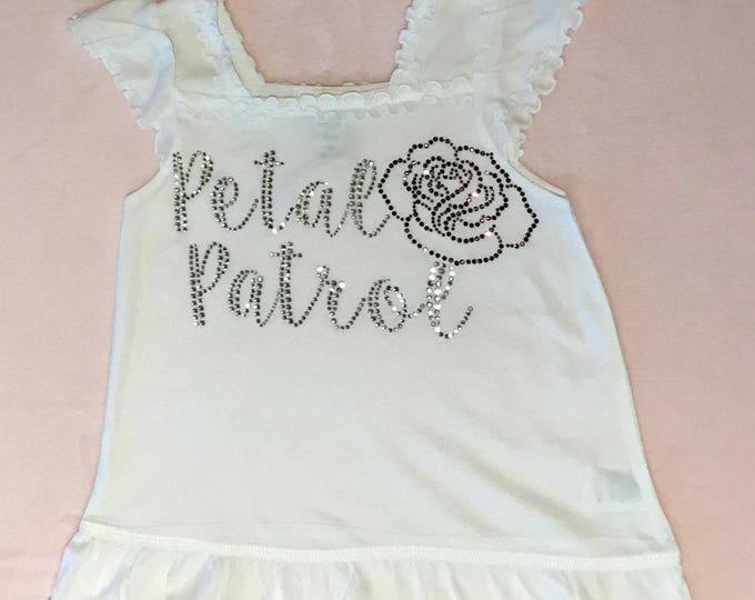 Petal Patrol Ruffle Shirt
