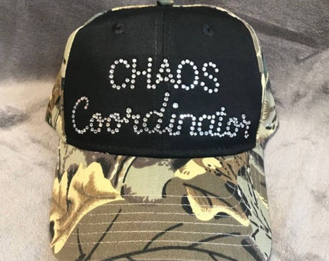 Chaos Coordinator Camo Hat