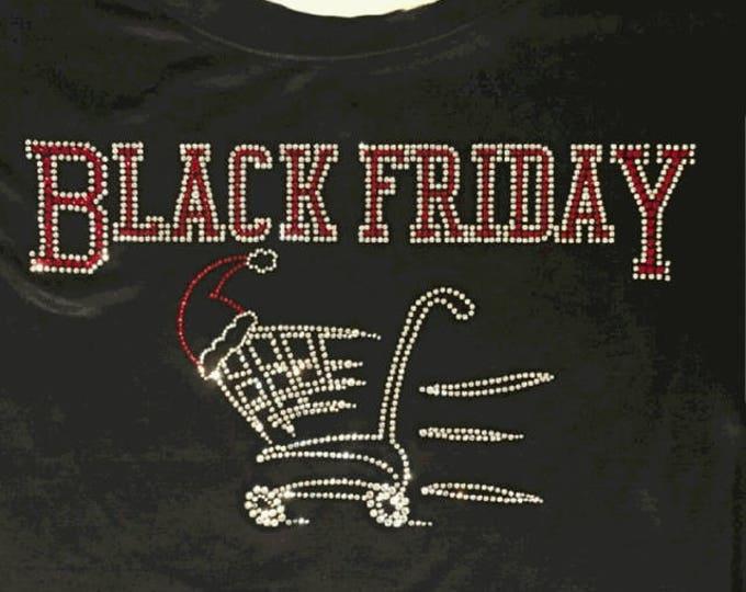 Black Friday Poly Slub V-Neck