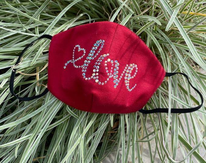 Love Mask, Love Heart Mask, Valentines Day Mask