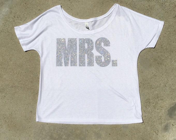 Mrs. shirt, bride shirt
