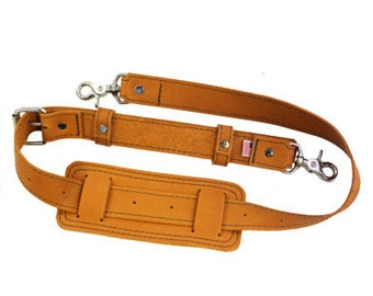 f7b0f2fd1f62 Leather Shoulder Strap -- Handmade in the U.S.A. - Sunrise