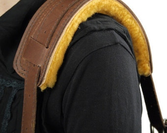 Deluxe Leather Shoulder Pad