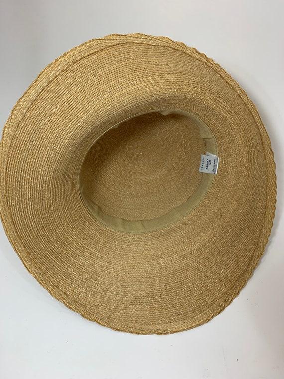 Vintage Grevi Firenze Straw Hat/Spring Straw Hat/… - image 10