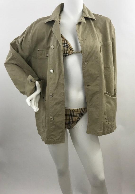 9ee8b50af Vintage Ralph Lauren Khaki Cotton Canvas Field Jacket/Polo Ralph Lauren  Barn Jacket/ Ralph Lauren Hunting Jacket/Ralph Lauren Blue Label