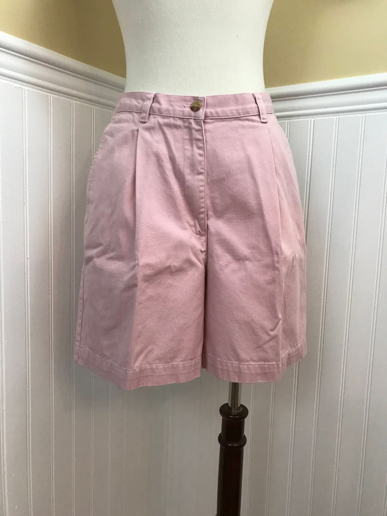 b0ddea24c1126 Vintage 90s High Waisted Mom Shorts Lauren Ralph Lauren Pleat