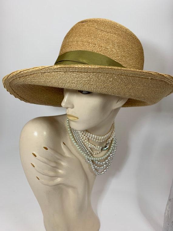 Vintage Grevi Firenze Straw Hat/Spring Straw Hat/… - image 5