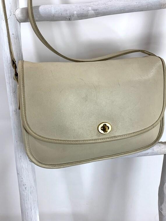 Vintage Coach No F40-9790 City Bag Shoulder Crossb