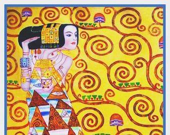 Orenco Originals Hygeia by Gustav Klimt Counted Cross Stitch Pattern