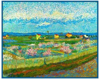 Orenco Originals Art Nouveau Klimts The Poppy Meadow Counted Cross Stitch Pattern