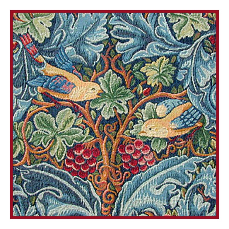 Orenco Originals Snakeshead by William Morris Counted Cross Stitch Pattern