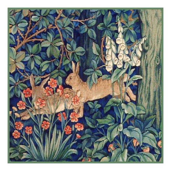 William Morris artichaut Cravate en soie