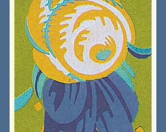 SUMMER SALE Art DecoRose Flower Counted Cross Stitch Chart