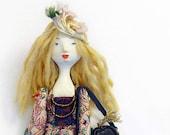 Portrait Doll / Custom Doll / Handmade Collectors Doll / Unique Portrait Gift / Custom Doll Portrait / 3d Portrait Idea / Portrait Gift Idea
