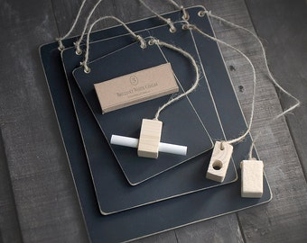 Hanging Memo Chalkboards With Combined Chalk Holder Duster . Made To Order