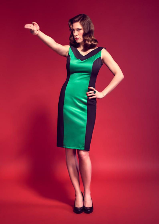 a4e657eb626 Virna dress: vintage / pin-up / rockabilly pencil dress by TiCCi Rockabilly  Clothing
