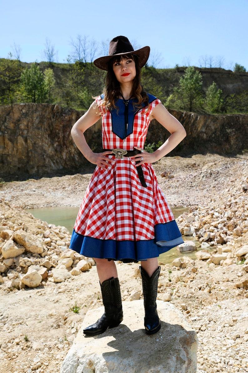 Vintage Western Wear Clothing, Outfit Ideas     Faith dress By TiCCi Rockabilly Clothing $108.00 AT vintagedancer.com