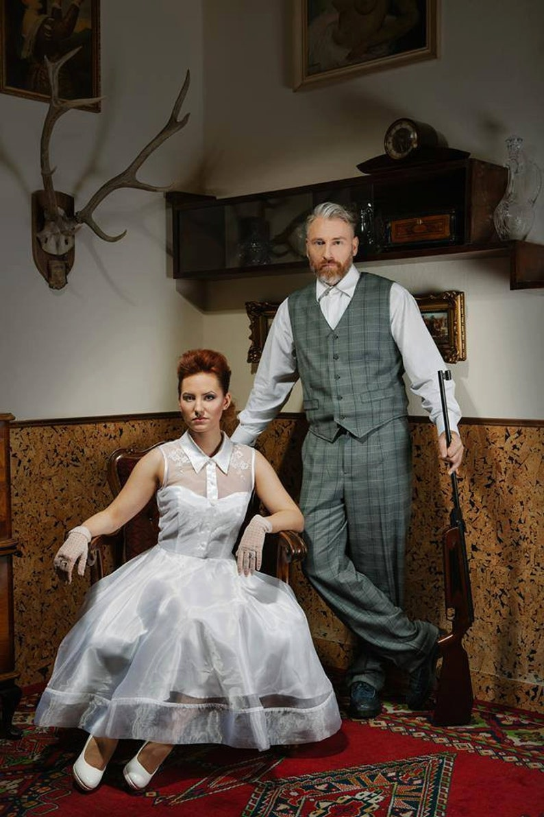 Rockabilly Wedding Dress.Christine Rockabilly Wedding Dress Vintage Style Pin Up Rockabilly Bride Dress By Ticci Rockabilly Clothing