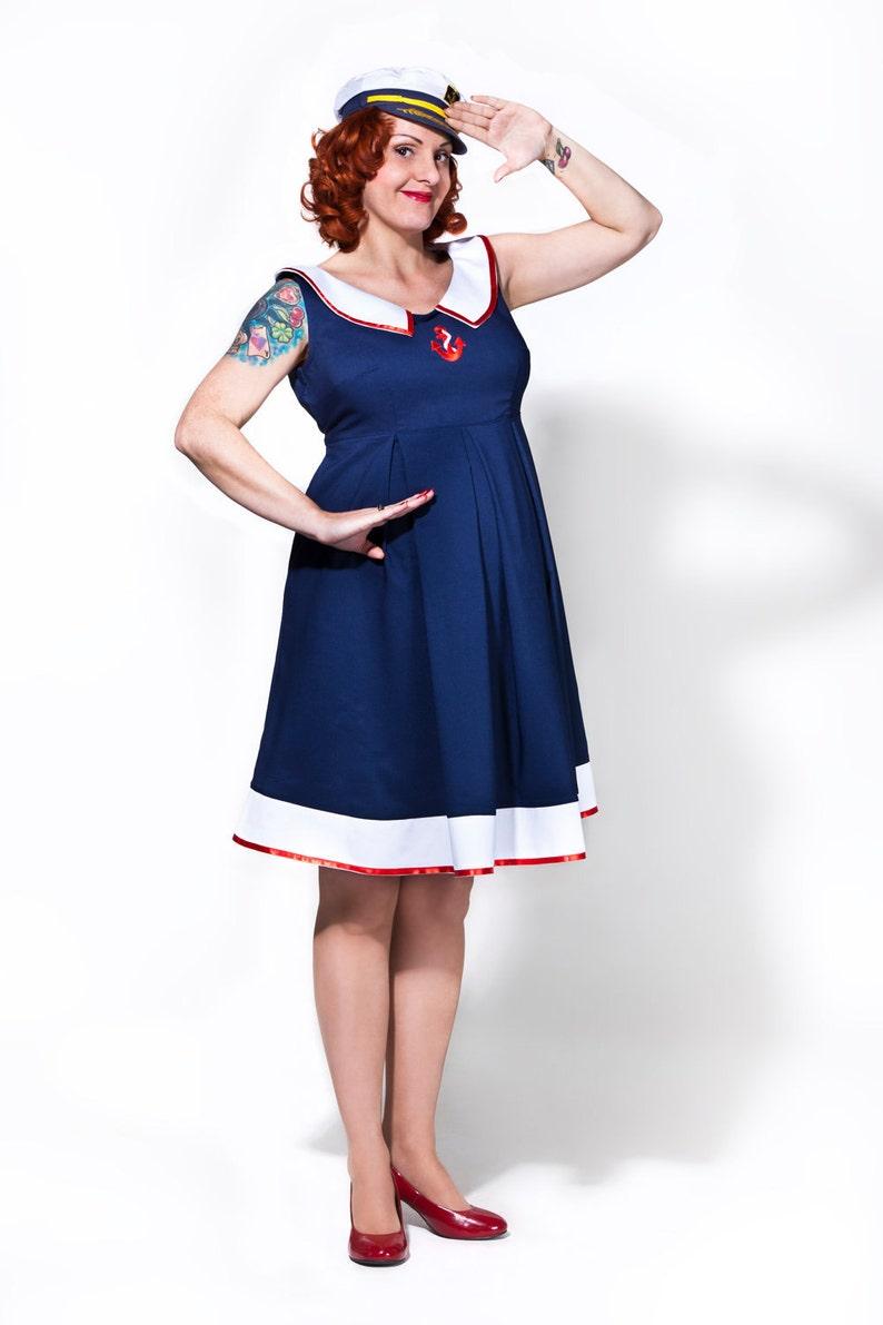 a7eb5ec849b Sailor Mom Rockabilly Maternity Dress  vintage style   pin-up