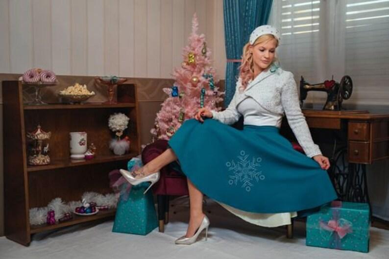 Snowflakes Princess wear By TiCCi Rockabilly clothing