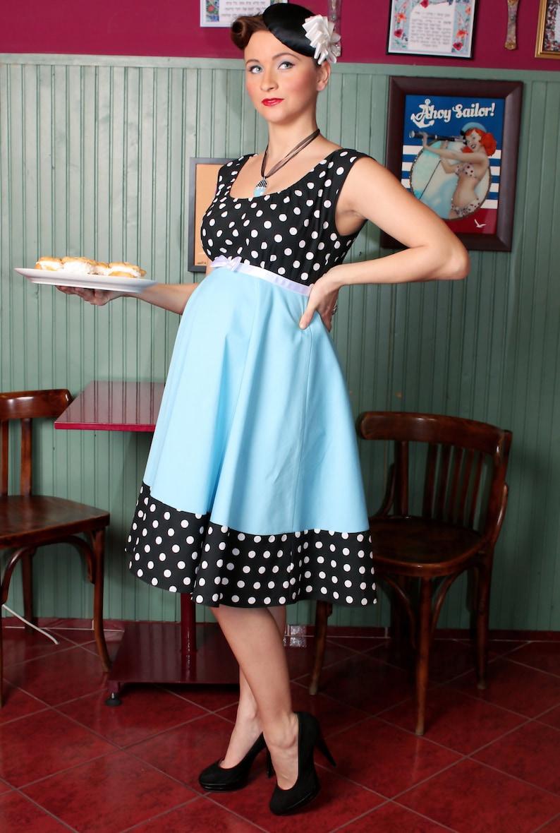 de49584f1f3 Nikki Maternity Dress  vintage style   pin-up   rockabilly