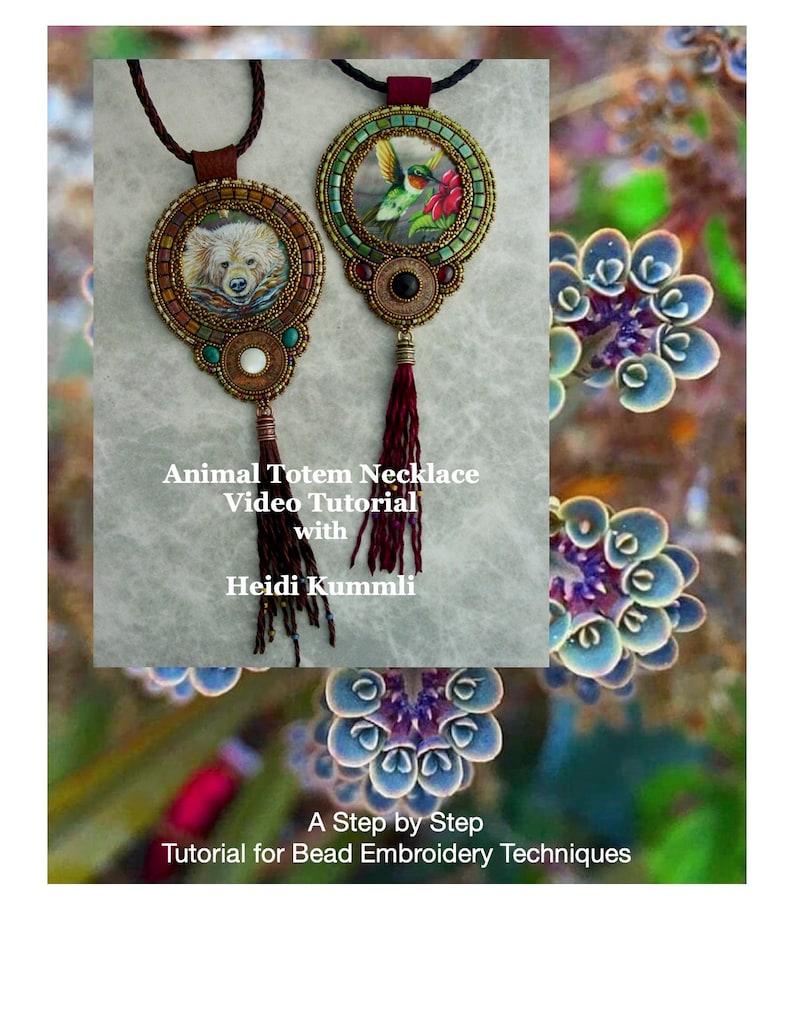 Video Tutorial Animal Totem Necklace image 0