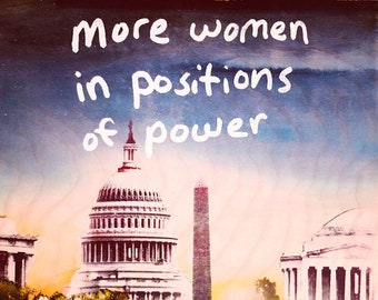 More Women in Positions of Power